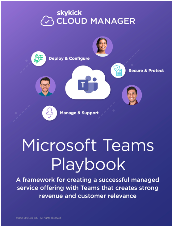 Cloud Manager Microsoft Teams Playbook cover